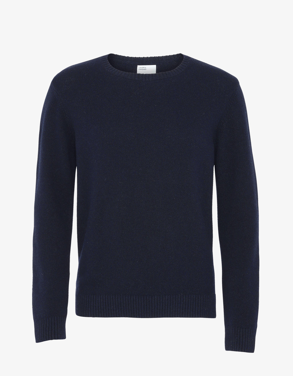 Colorful Standard Merino Wool Crew Merino Crewneck Navy Blue