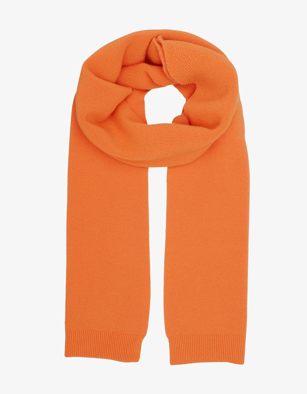 Colorful Standard Merino Wool Scarf Scarf Burned Orange