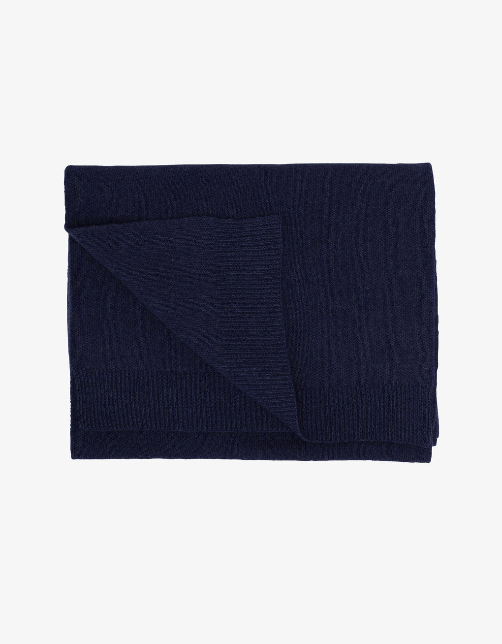Colorful Standard Merino Wool Scarf Scarf Navy Blue