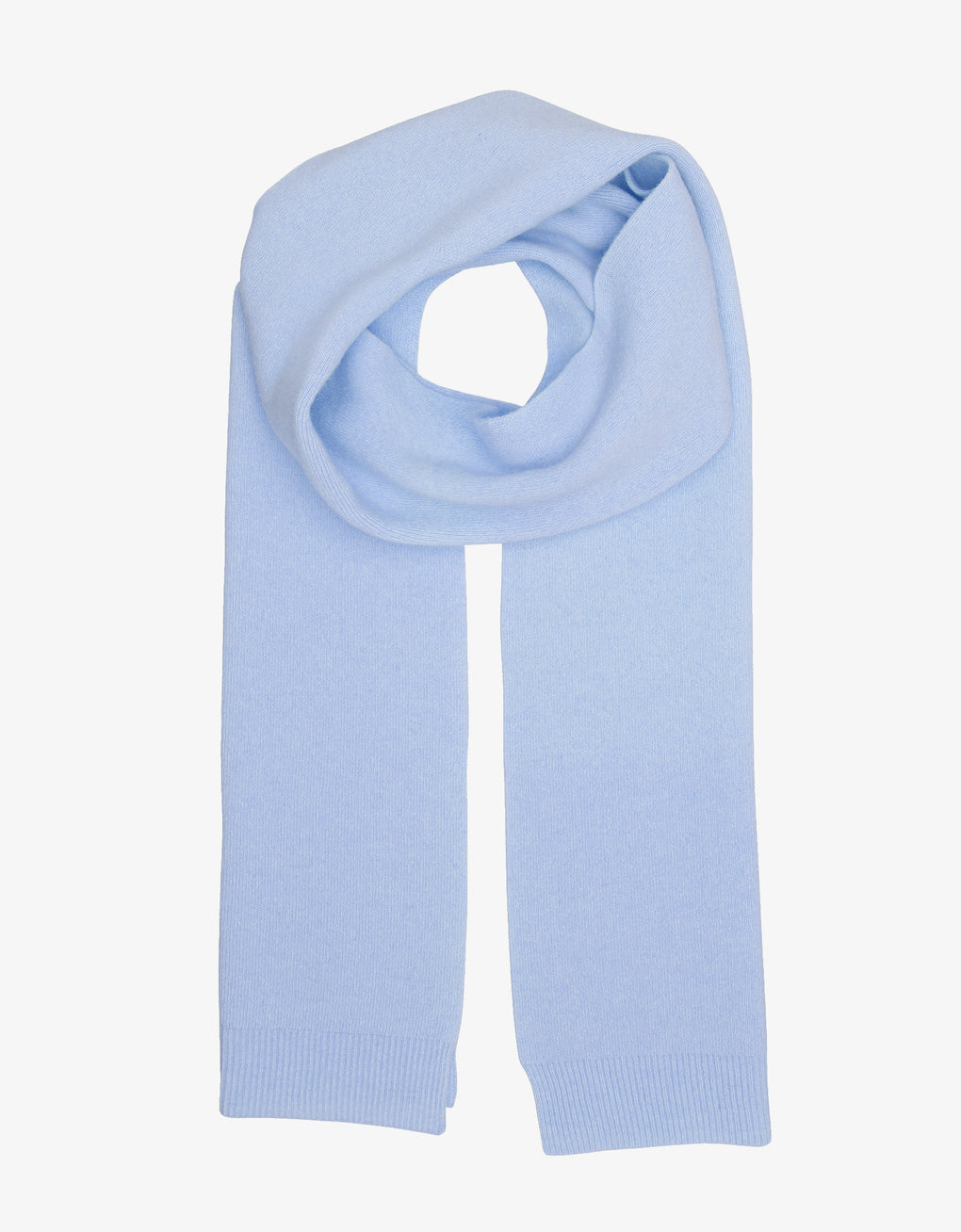 Colorful Standard Merino Wool Scarf Scarf Polar Blue