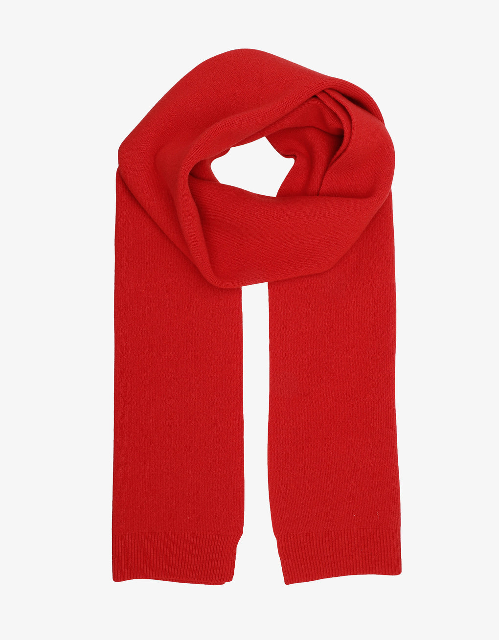 Colorful Standard Merino Wool Scarf Scarf Scarlet Red