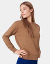 Colorful Standard Women Classic Organic Crew Women Crewneck Burned Orange
