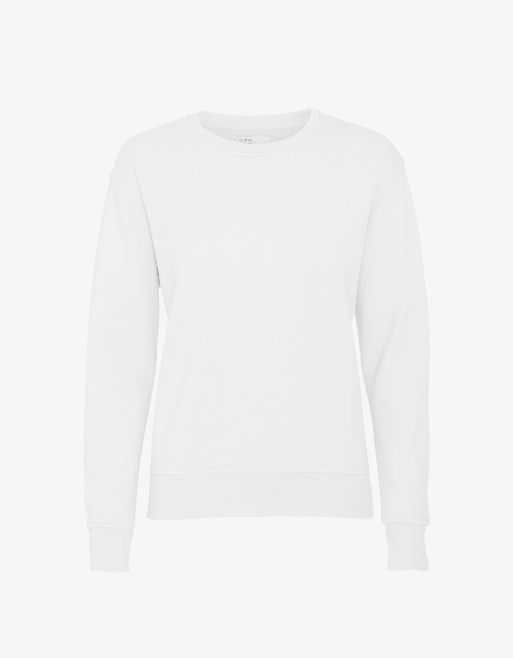 Colorful Standard Women Classic Organic Crew Women Crewneck Optical White