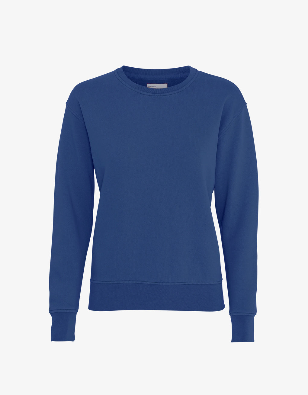 Colorful Standard Women Classic Organic Crew Women Crewneck Royal Blue