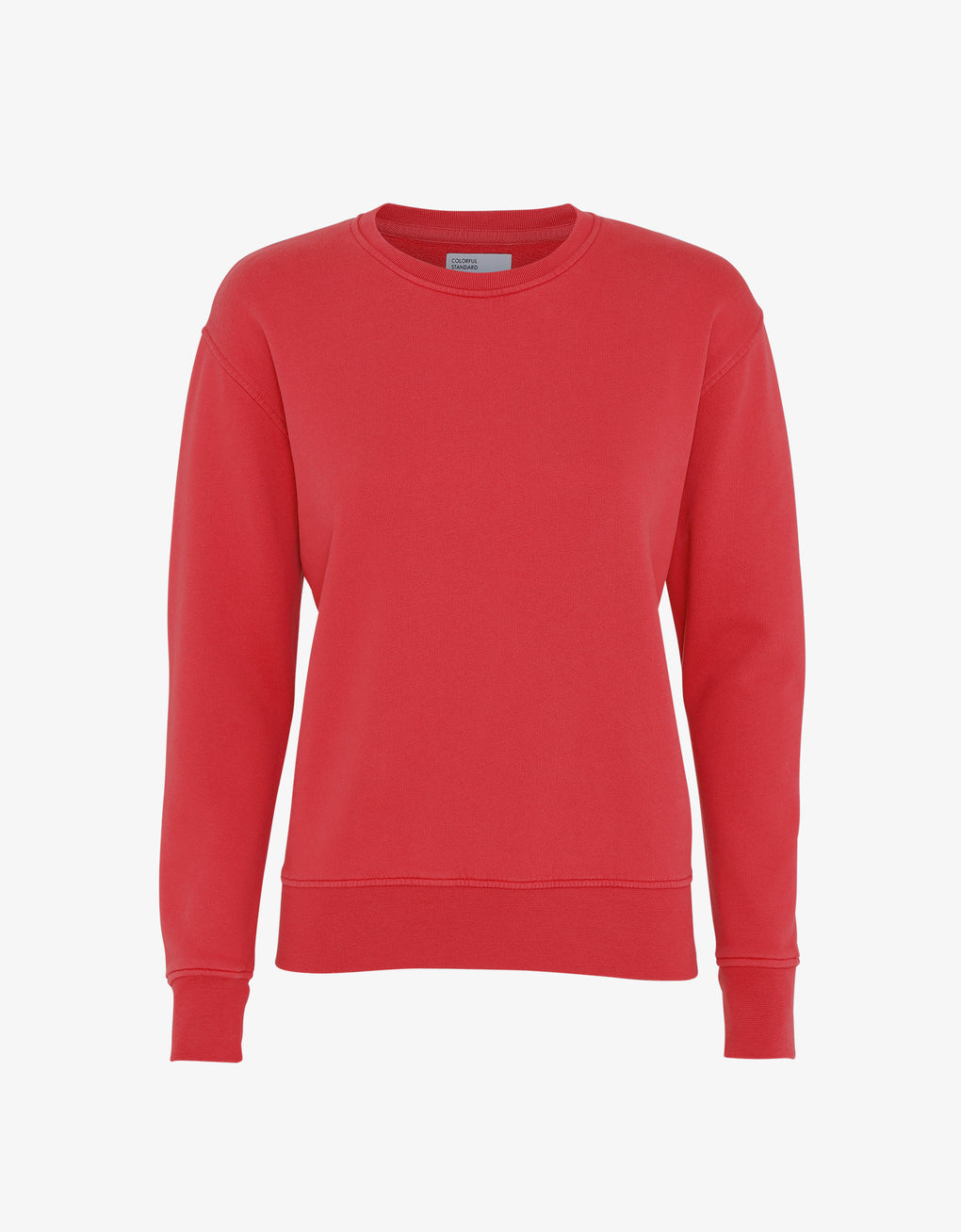 Colorful Standard Women Classic Organic Crew Women Crewneck Scarlet Red