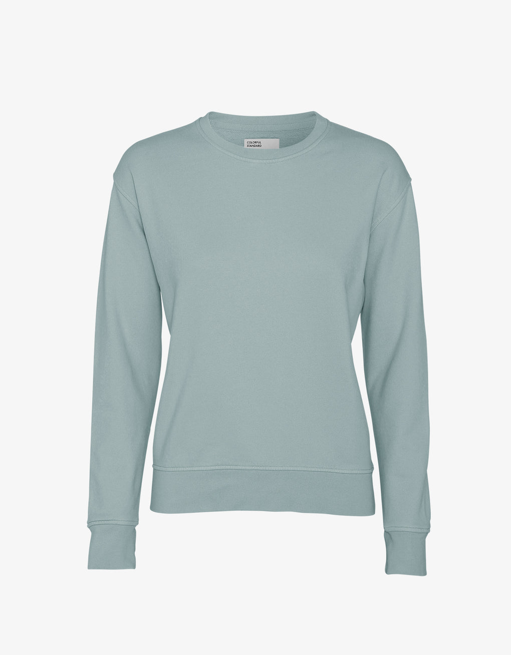 Colorful Standard Women Classic Organic Crew Women Crewneck Steel Blue
