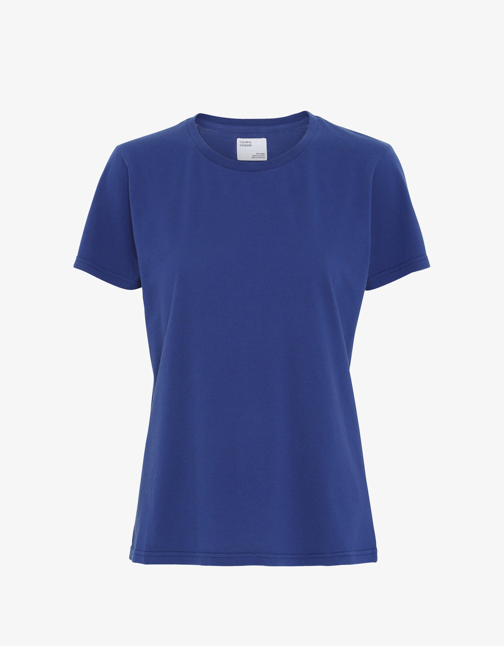 Colorful Standard Women Light Organic Tee Women T-shirt Royal Blue
