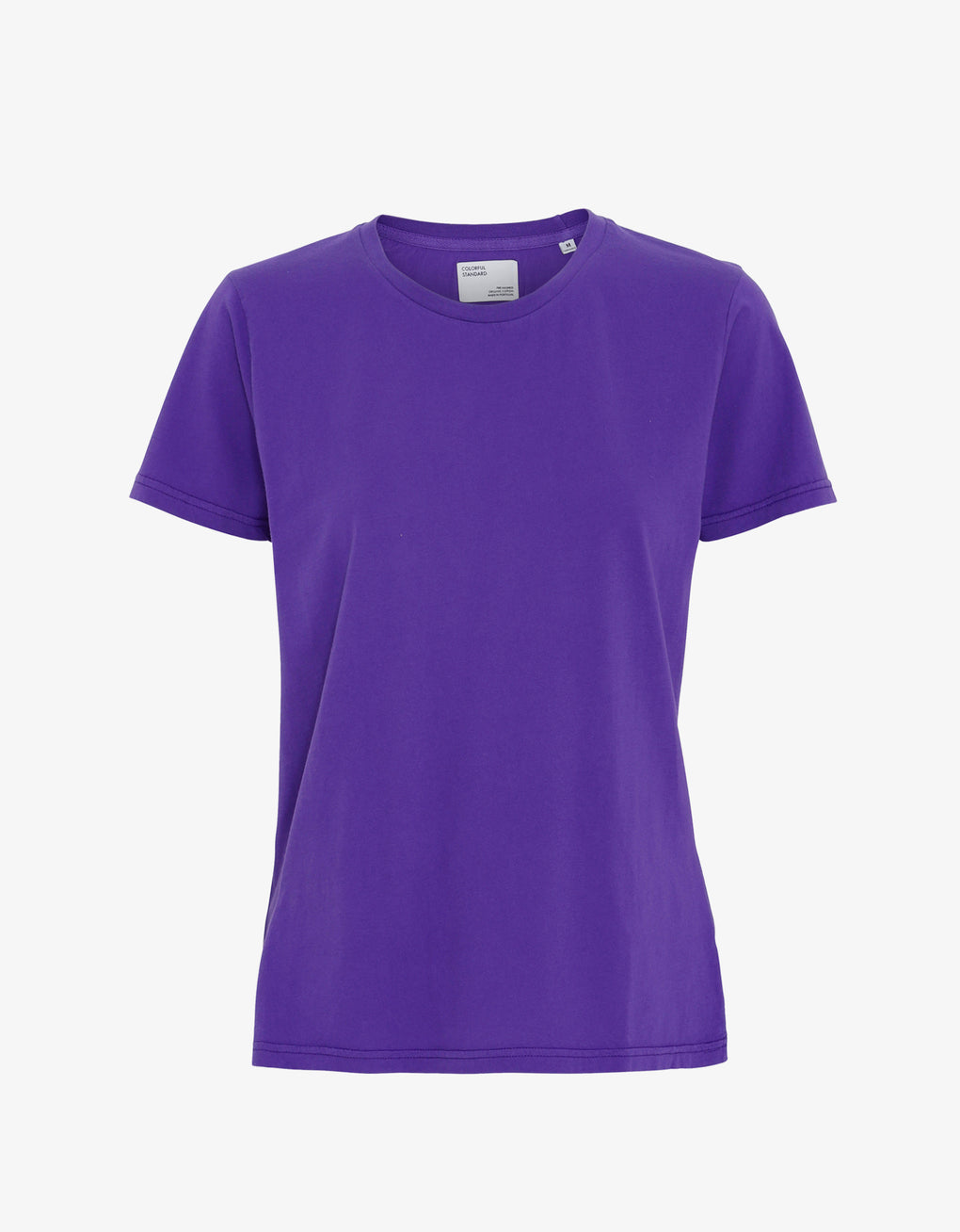Colorful Standard Women Light Organic Tee Women T-shirt Ultra Violet