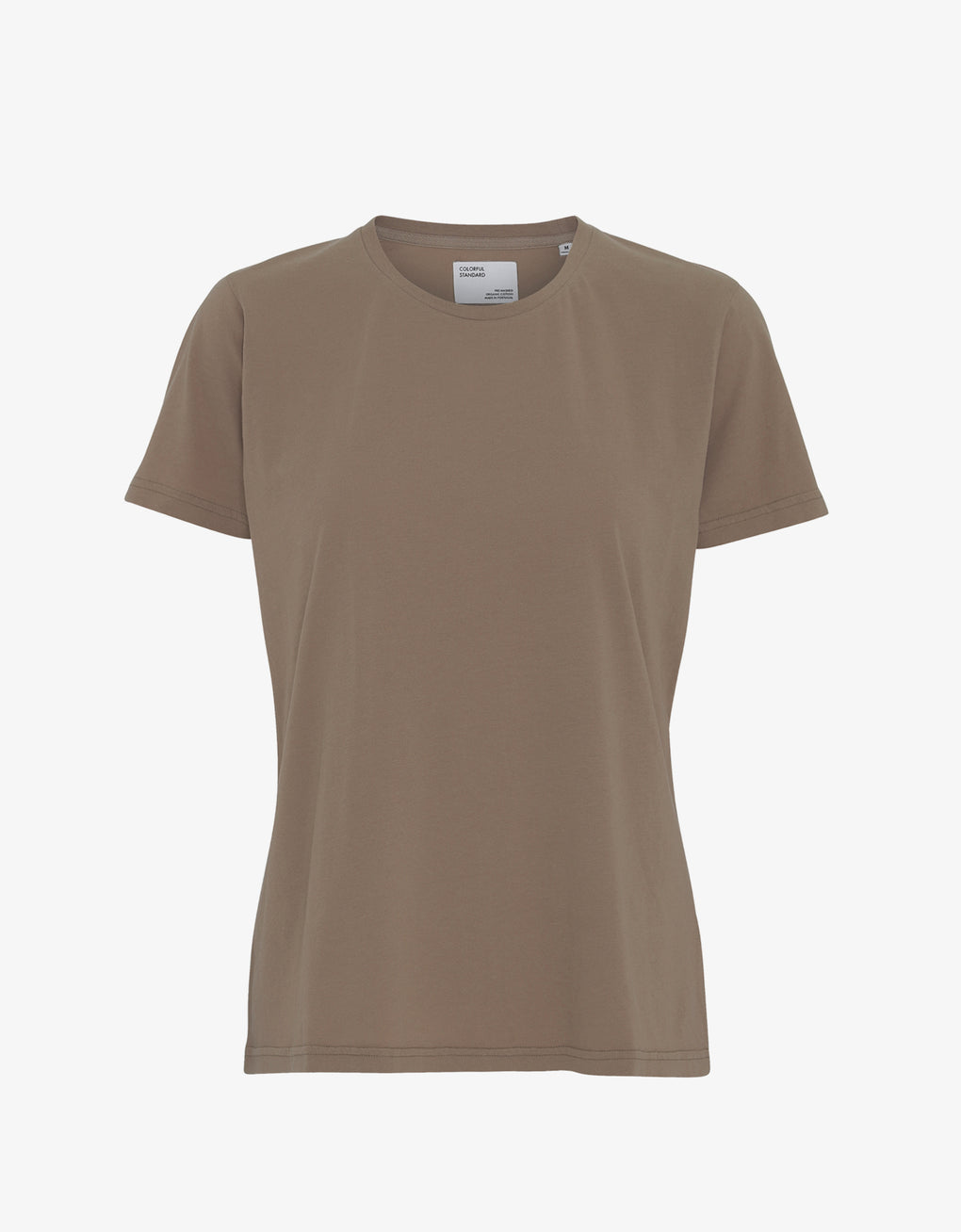 Colorful Standard Women Light Organic Tee Women T-shirt Warm Taupe