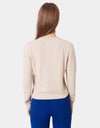 Colorful Standard Women Merino Wool Crew Women Merino Crewneck Ivory White