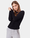 Colorful Standard Women Merino Wool Crew Women Merino Crewneck Stone Blue