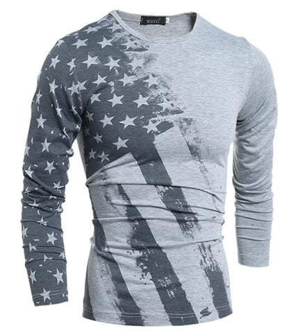 American Long Sleeve Tee