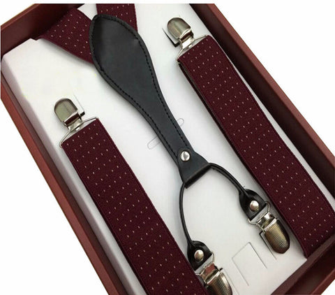 Hombre Style Suspenders