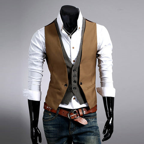 Dusty Suit Vest