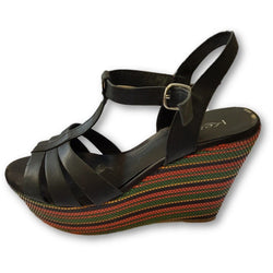 Kess Wedge Platform Sandals - Shoe Bank