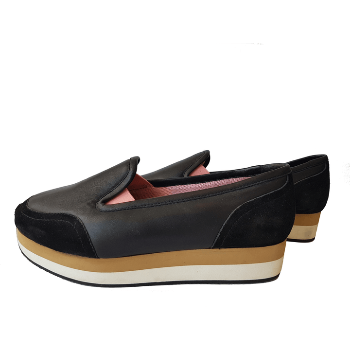 Sonia Rykiel Leather Platform Brogues - Shoe Bank
