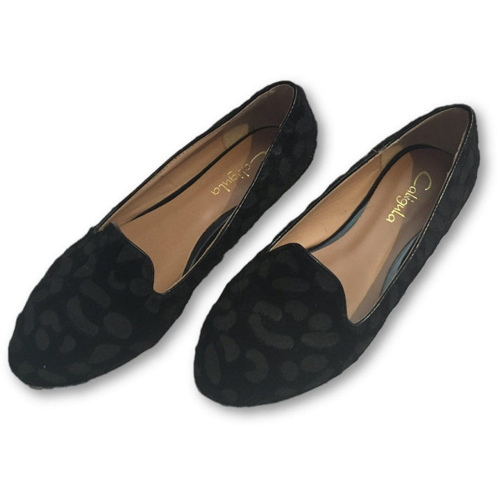 Caligula Black Flats - Shoe Bank