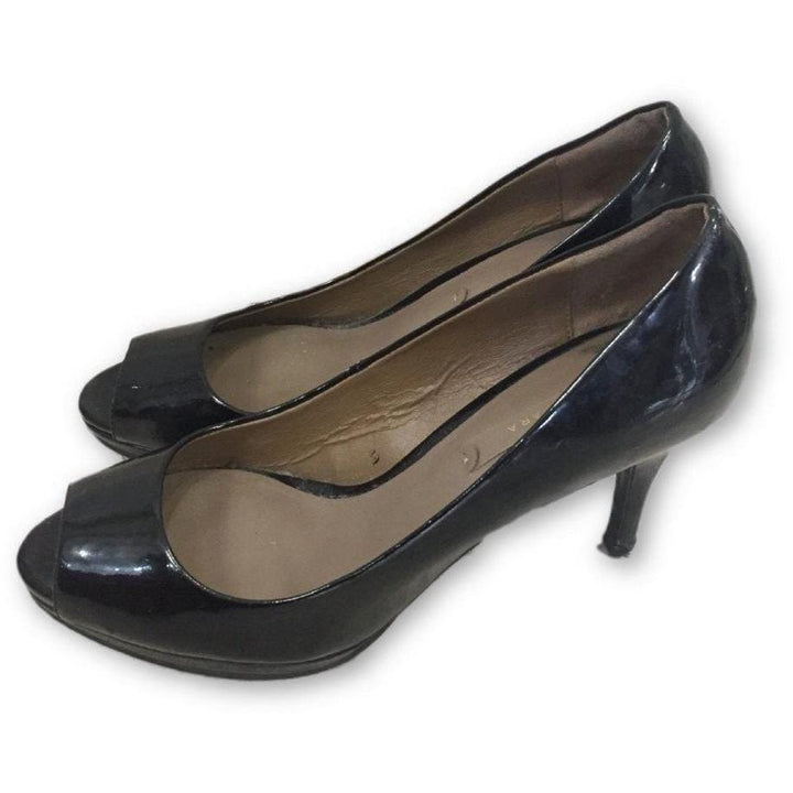 Zara Open Toe Pumps - Shoe Bank