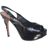 Black Vince Camuto Open-toe Pump - Shoe Bank
