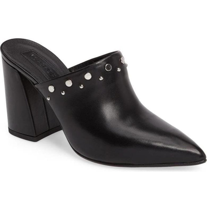 Topshop Studded Mules - Shoe Bank