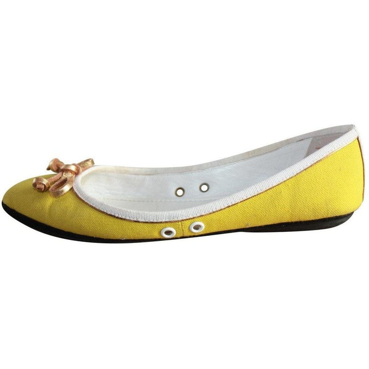 Yves Saint Laurent Bow Embellished Ballet Flats - Shoe Bank