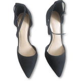 Asos Black Suede Pumps - Shoe Bank