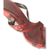 Nine West Pink Sandals - Shoe Bank