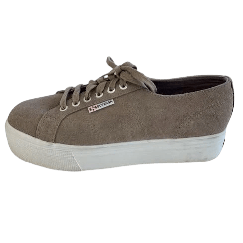 Superga Cute Suede platform sneakers