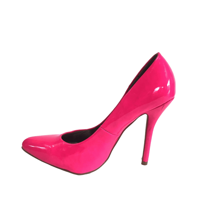 fuchsia Fun Pumps