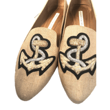 Veronica Beard Sailor Flats