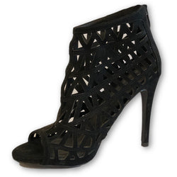 Castro Open Toe Ankle Perforated Boots - Shoe Bank