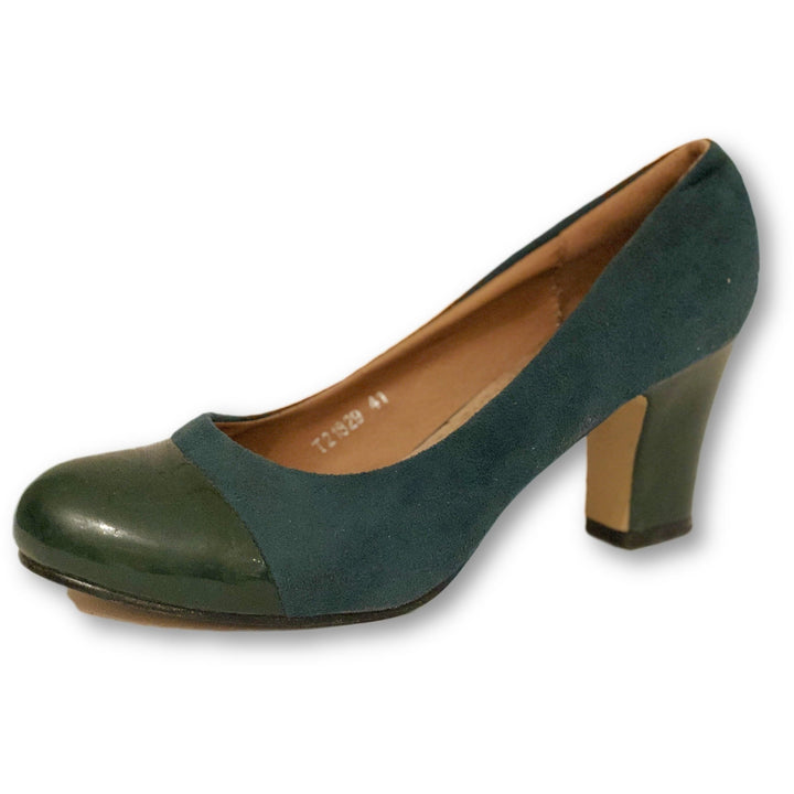 To Go Green Pumps - Shoe Bank