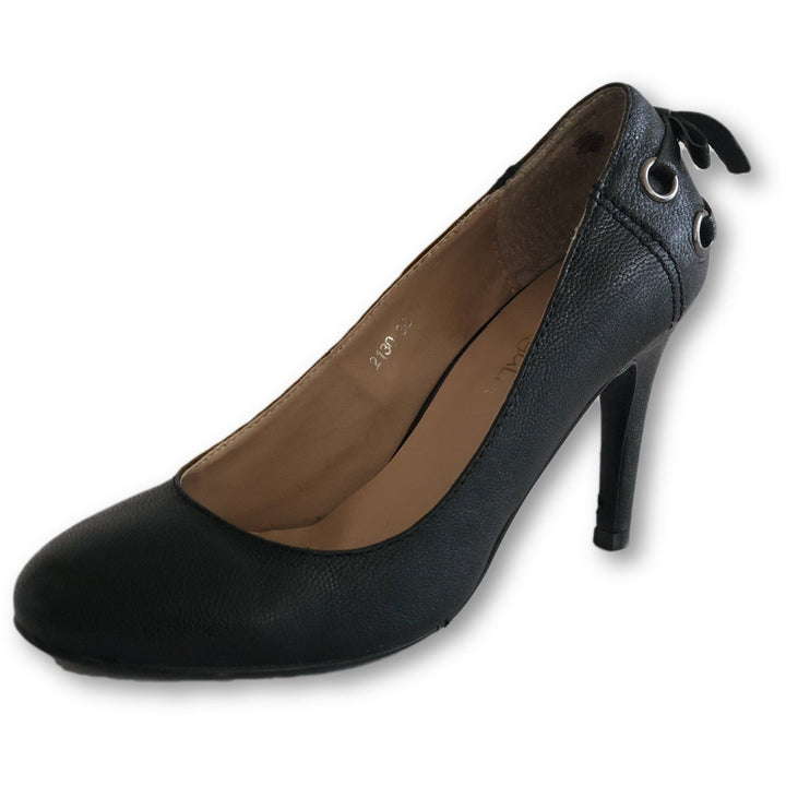 Caligula Black Pumps - Shoe Bank
