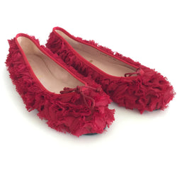 Pretty Ballerinas Red Flats - Shoe Bank