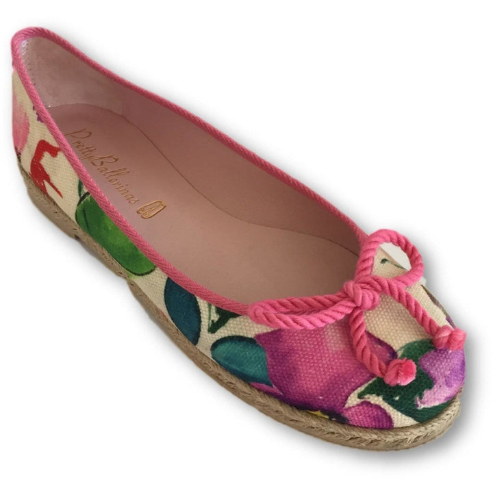 Pretty Ballerinas Multi Color Print - Shoe Bank