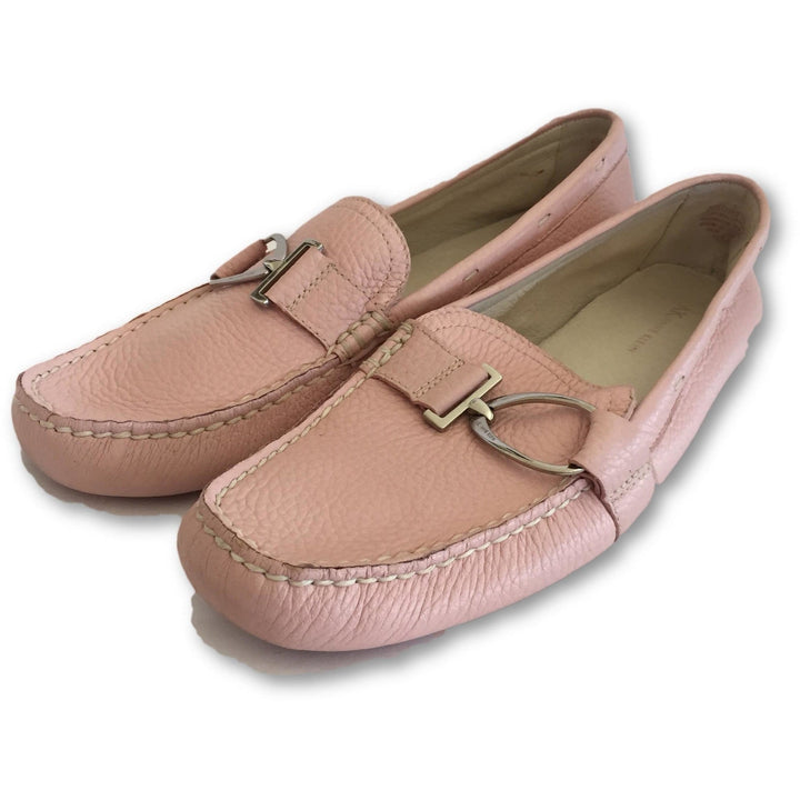 Anne Klein Pink Loafers - Shoe Bank