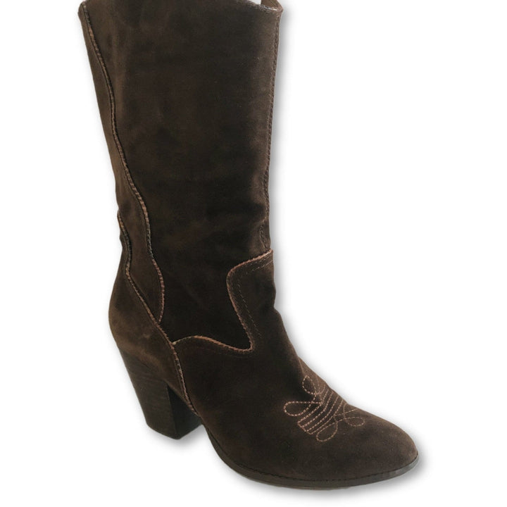Nine West Suede Boots - Shoe Bank