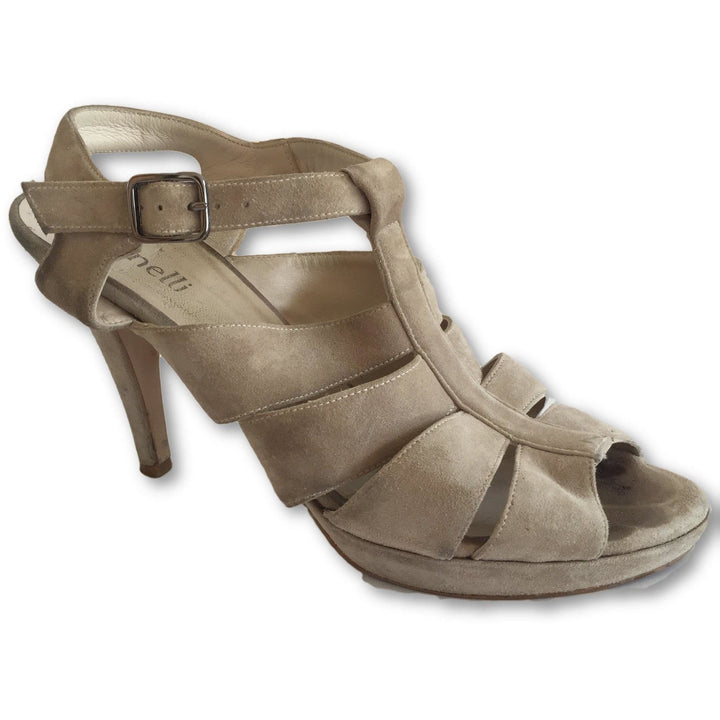 Minelli Suede Sandals - Shoe Bank