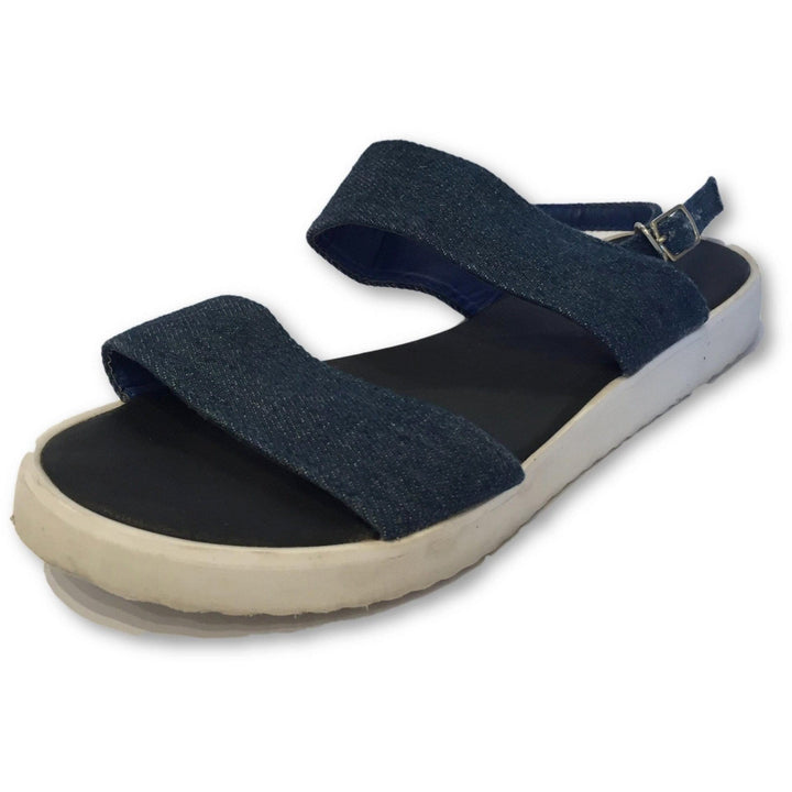 Rubi Denim Sandals - Shoe Bank