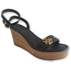Tory Burch Elina Wedge Sandals - Shoe Bank
