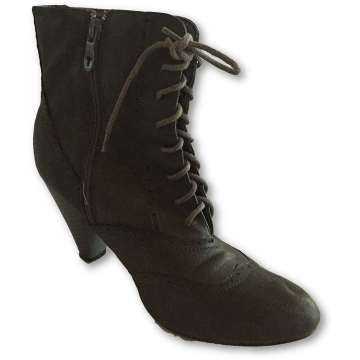 To Go Lace Up Ankle Boots - Shoe Bank