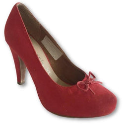 Tamaris Red Pumps - Shoe Bank