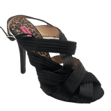 Betsey Johnson Eden Black Satin