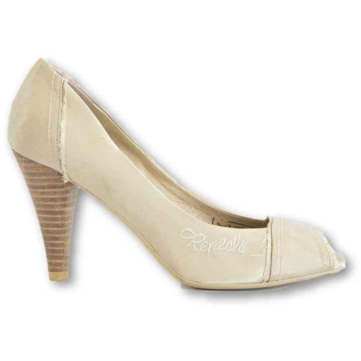 Replay Pearl Open Toe Pumps - Shoe Bank