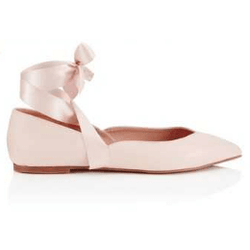 Lipsy London Pink Flats - Shoe Bank