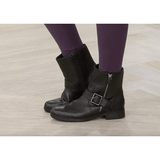 Clarks Ankle Moto Boots With Buckle - Shoe Bank