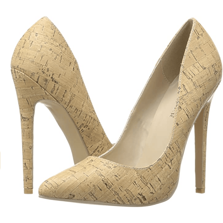 Pleaser Cork Pumps
