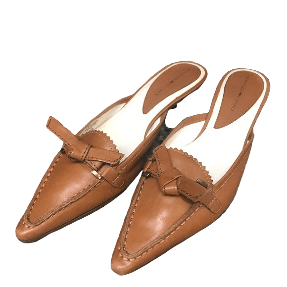 bandolino brown mules