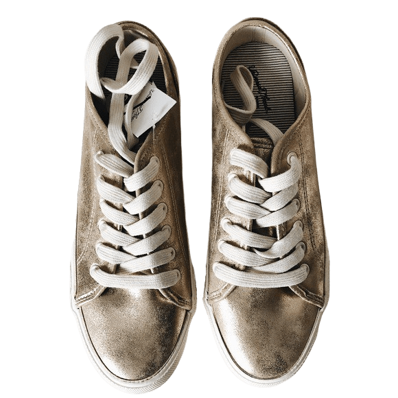 UNIVERSAL THREAD Gold Metallic Sneakers