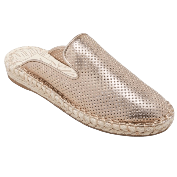 DV by Dolce Vita Rose Gold Mules
